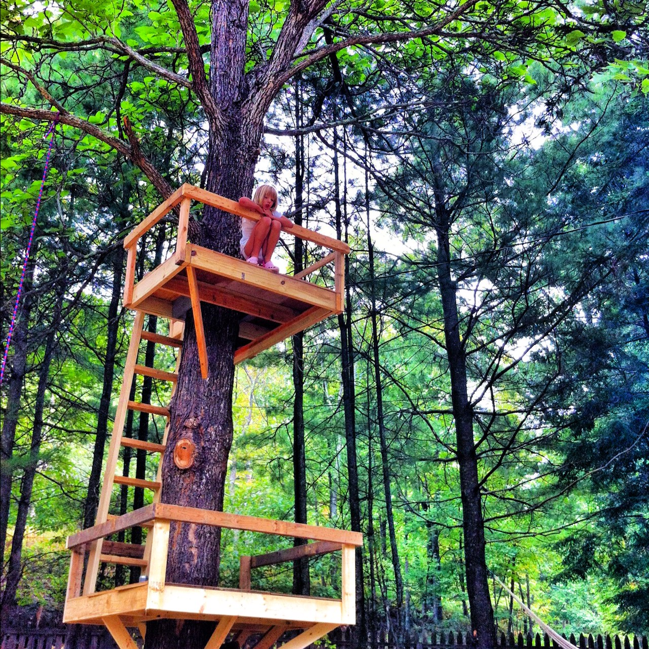 Look ... & We Built This Treehouse On Pinterest And Hope u2013 Her Bad Mother pezcame.com